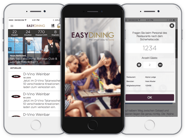 EasyDining preview